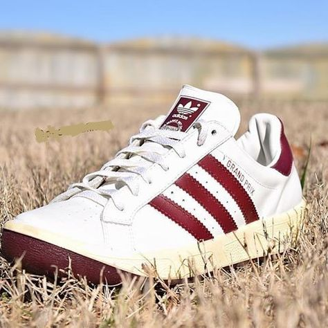 Adidas Grand Prix From The 90 S I Remember Wearing A Pair Of These Vintage Sneakers Trendy Sneakers Mens Fashion Shoes