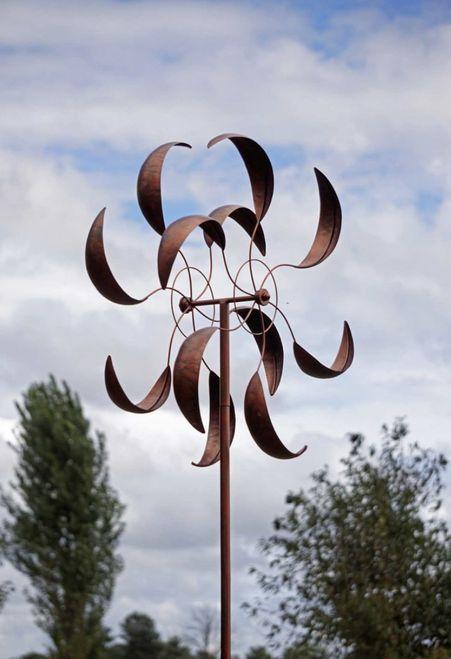 Wind Turbine Art Turbine Windkraftanlage Kunst Art De L Eolienne Arte De Aerogeneradores Wind In 2020 Wind Turbines Art Kinetic Wind Spinners Wind Sculptures