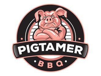 Logo Design Pig Logo Logo Design Restaurant Logo Design
