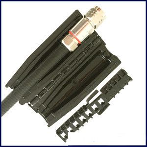 Feeder cable weather proofing kit, 12 inch to 78 inch cable