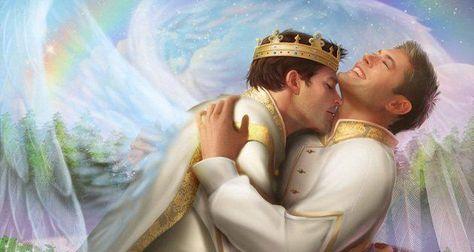 gay kiss love prince king