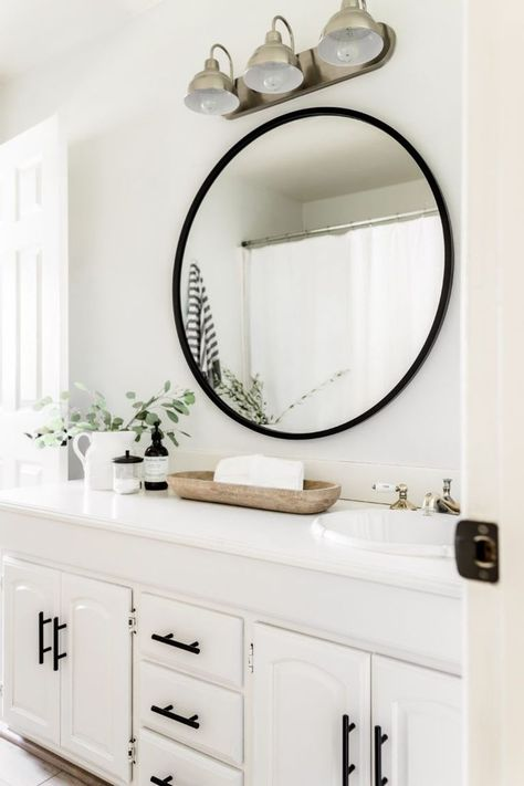 Home Decor Ideas Indian Style Affordable Bathroom Accessories.Home Decor Ideas Indian Style Affordable Bathroom Accessories Bathroom Renovation, Master Bathroom Design, Bathroom Decor, Bathroom Makeover, Apartment Bathroom, Round Mirror Bathroom, White Bathroom Decor, Guest Bathrooms, Bathroom Accessories