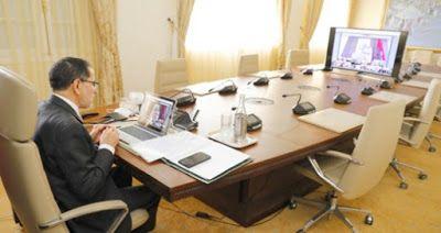 متابعة تتجه حكومة سعد الدين العثماني إلى تمديد العمل بحالة الطوارئ الصحية المفروضة في المغرب لمكافحة تفشي فيروس كور Conference Room Table Table Home Decor