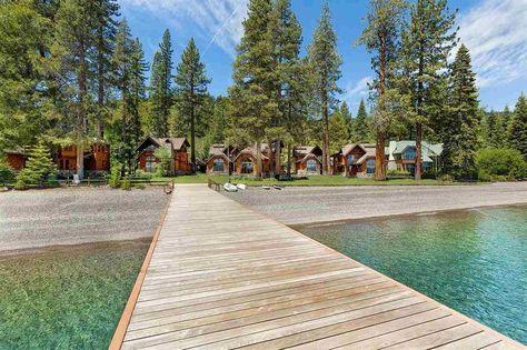 Lakefront Serenity In Homewood Homeaway Homewood House In The Woods Lakefront Tahoe City