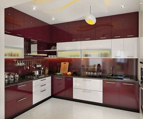 Cocinas Combinadas En Dos Colores Como Podemos Combinar Los Colores Para La Cocina Diseno De Interiores De Cocina Ideas De Diseno De Cocina Diseno De Cocina