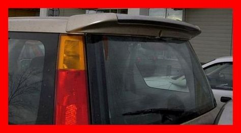 Honda Crv 1 96 01 Rear Roof Spoiler Tuning Gt In Vehicle Parts Accessories Car Tuning Styling Body Exterior Styling Ebay Honda Crv Honda Car Tuning