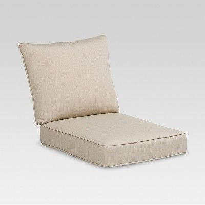 Rolston 2pc Outdoor Replacement Chair Cushion Set Beige Haven Way Patio Cushions Outdoor Replacement Chair Cushions Outdoor Deep Seat Cushions