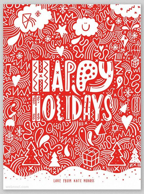 Christmas Card Greetings Business Sayings : 25 Beautiful Business Christmas Cards Designs for your inspiration