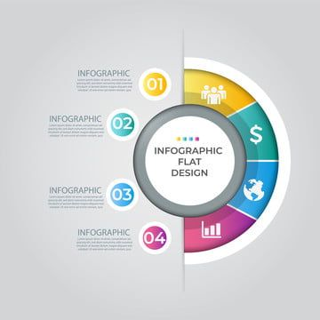 معلومات الرسم البياني قالب مفهوم الإبداع قالب Business Presentation Templates Infographic Infographic Templates