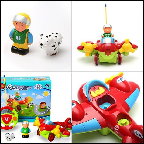 HOT RC Cartoon Airplane Remote Control Plane for Baby Toddlers Kids and  Children  HolyStone 56ba9cf0e