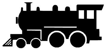 Absolutely Free Clip Art - Transportation Clip art, Images, & Graphics - train_silhouette.jpg