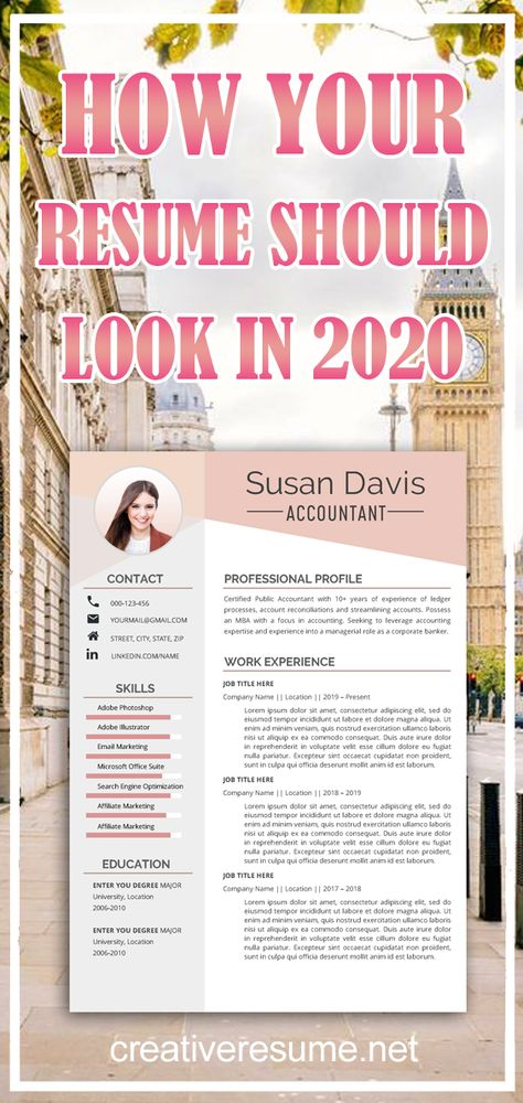 Resume Template, Professional Resume, Creative Resume, CV Template, Modern Resume, Resume Design