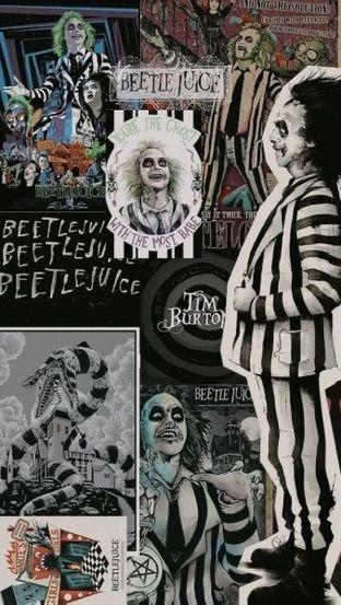 Beetlegeuse collage