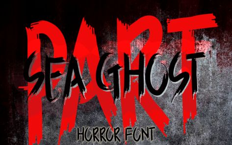 Sea Ghost (Font) by Inermedia STUDIO · Creative Fabrica