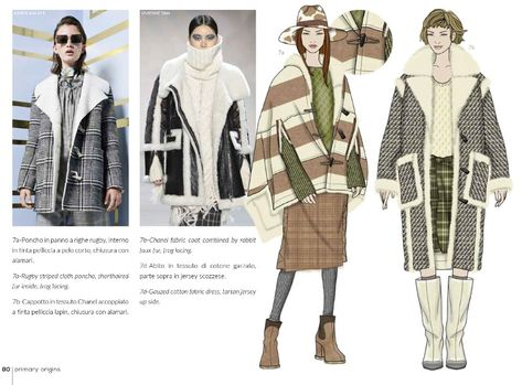 Fashion Box Knitwear Women: Italian Kniwear Trend Forecast for A/W season with Fabric Samples.