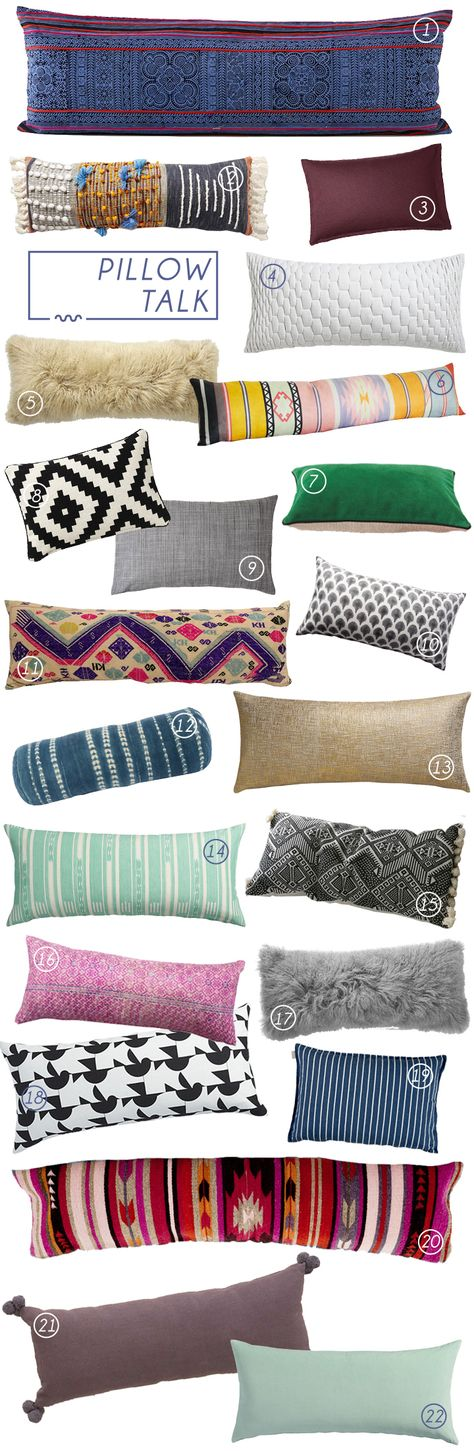 3 minute, no sew bolster pillow cover