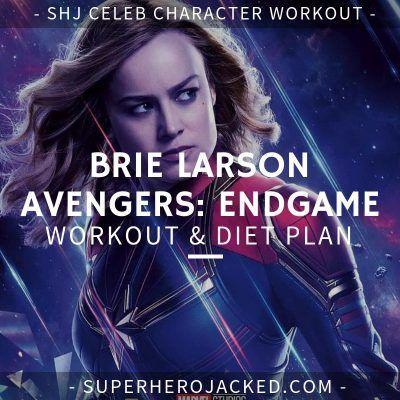 brie larson diet plan