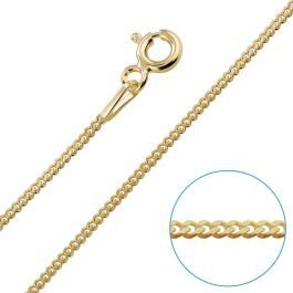 Sterling Silver 1.2mm Sparkle Chain Necklace