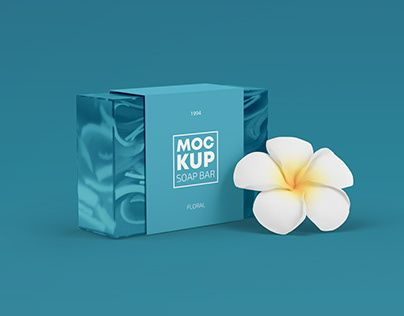 Download Check Out New Work On My Behance Profile Soap Bar Packaging Mockup With Flower In Psd Http Be Net Gallery 89 Packaging Mockup Bar Soap Soap Advertisement