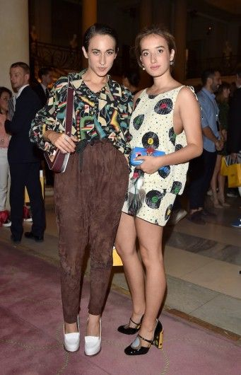 Delfina Delettrez Fendi en Leonetta Luciano Fendi - Haute couture: de best geklede gasten in de straten van Parijs - Fashion Week - Fashion