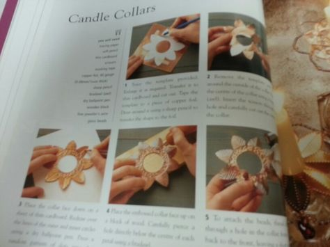 Candle collars.