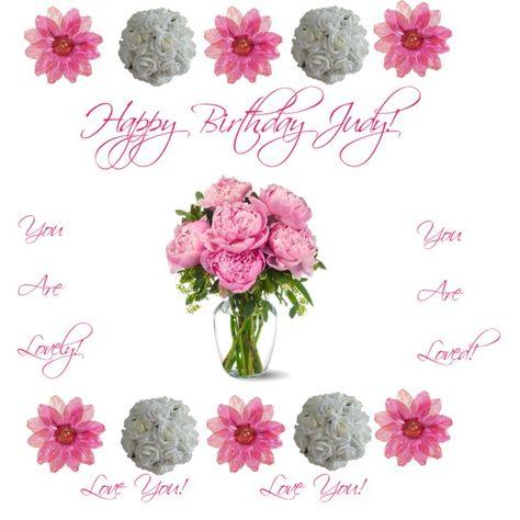 happy birthday judy images
