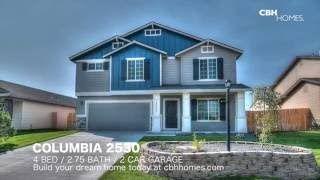 Cbh Homes Columbia 2530 Floor Plan Floor Plans Home House Styles