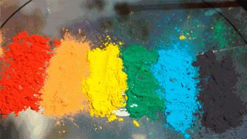 Catalinacatalina Gif Pinterest Gifs - Putting paint on a drum kit creates an explosive rainbow