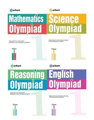 Class 1 Olympiad practice test books combo, 2018 - 19 | Best