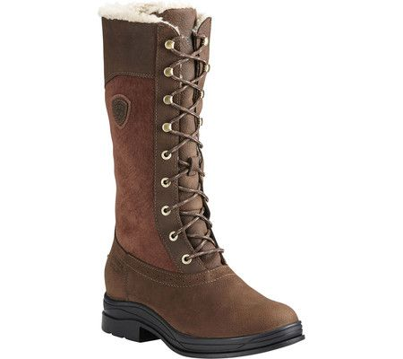 3caf0d73ffa9 Women s Ariat Wythburn H2O Insulated Knee High Boot - Java Full Grain  Leather Suede with FREE Shipping   Exchanges. A seamless blend of style and  ...