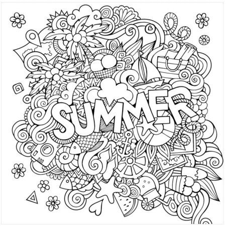 Home Summer Coloring Pages Coloring Canvas Coloring Pages