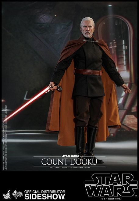 Attack Of The Clones Count Dooku 1 6 Scale Figure Star Wars Models Count Dooku Star Wars Pictures