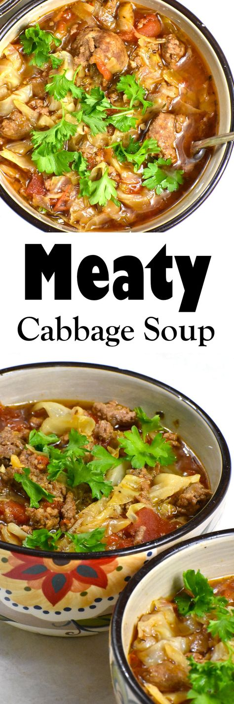 This hearty soup is the perfect weeknight dinner contender. Just a few minutes of your work and your crockpot or instant pot does the rest. It's a great winter warmer and is low carb and keto friendly. Leftovers are ideal meal prep for easy lunches and dinners. Click the link for this and many more great recipes!