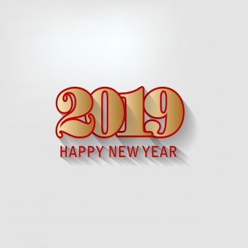 Happy New Year 2019 And Mery Christmas Chinese New Year Happy White Pig Png And Vector With Transparent Background For Free Download Happy New Year 2019 Happy New Year Newyear