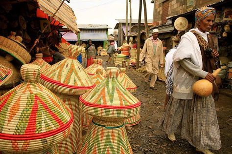 Market Scene In Jimma Ethiopia People Ethiopia Oromo People