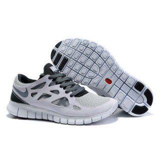Billig mote Menn Nike Free Run Plus Lime Sorte Sko #Billig