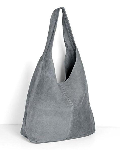 für die ganze Familie näher an Veröffentlichungsdatum: ImiLoa Lederhandtasche Tasche Shopper grau Wildleder ...