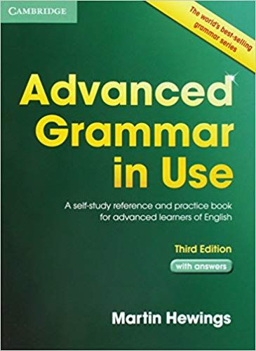 Advanced Grammar In Use With Answers A Self Study Reference And Practice Book For Advanced Learners Of English Advanced Grammar Grammar English Grammar Book