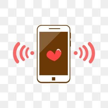 โทรศ พท ม อถ อ ด จ ตอล ความร ก บ าภาพ Png และ Psd สำหร บดาวน โหลดฟร Phone Material Phone Template Phone Logo