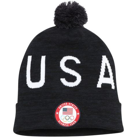 b11c36ea26d17 Men s Nike Navy Team USA Cuffed Hat