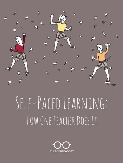 Self-Paced Learning: How One Teacher Does It   Cult of Pedagogy