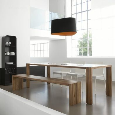 contemporary dining table BRIO by Sacha Lakic ROCHE BOBOIS - moderne esszimmer mobel roche bobois