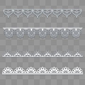 White Hand Painted Lace White Lace Vintage Border Embroidery Png Transparent Clipart Image And Psd File For Free Download Vintage Borders Lace Painting Backdrops Backgrounds