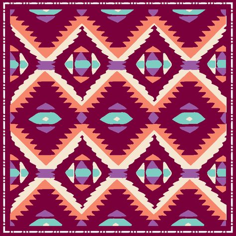 Tribal pattern that looks cute on any shirt we can imagine!