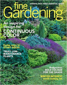 Fine Gardeneing Magazine Cover Fine Gardening Fine Gardening Magazine Plants