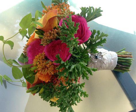 Bridal bouquet c.August 2014 Designed by Juniper Flowers