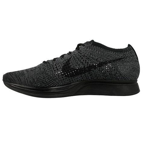 pretty nice d013f 12bea NIKE Flyknit Racer Size 8.5 US Black Triple Mens Unisex Running Shoes  Nike