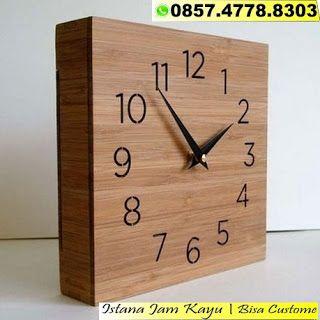 Jam Dinding Kayu Unik Jam Dinding Kayu Custom Jam Dinding Kayu Murah Jam Kayu Unik Unik Murah Wall Clock Clock Wooden Walls