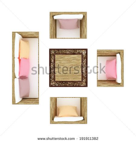 garden or beach outdoor furniture top view isolated on white sofa chairs and table furniture top view collection pinterest - Garden Furniture Top View Psd