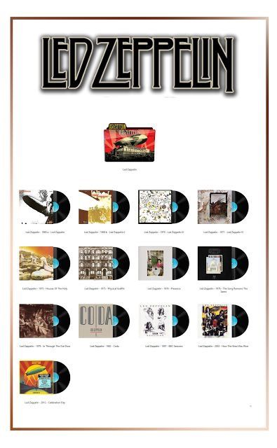 Led zeppelin discography 1969-2018 [flac] (re-up) torrent.